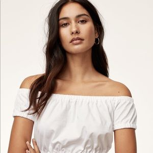 Wilfred Adelisa cropped t shirt